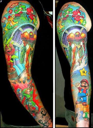 nintendo-montage-tattoo